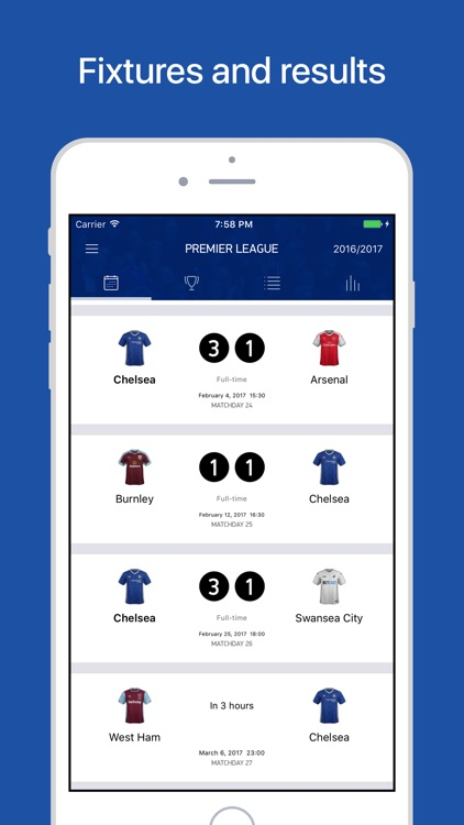 CFC Live – Scores & News for Chelsea Fans screenshot-3