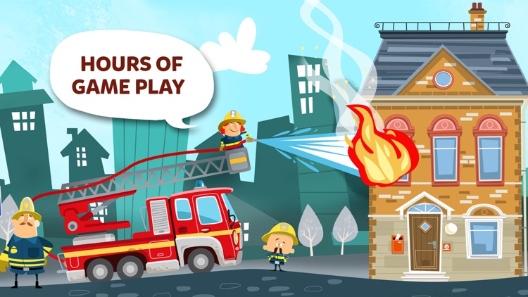 Little Fire Station - Fire Engine & Firefighters screenshot-3