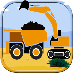 Excavator Backhoe Coloring Book Games For Kids On The App Store