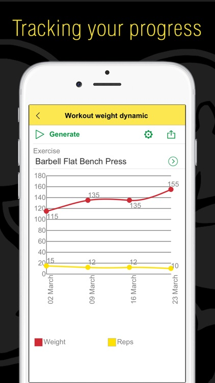 Fitness - Gym and Home Workout,my Exercise Journal screenshot-4