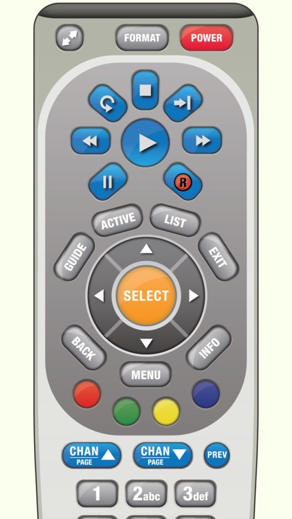 DirectVR Remote for DirecTV
