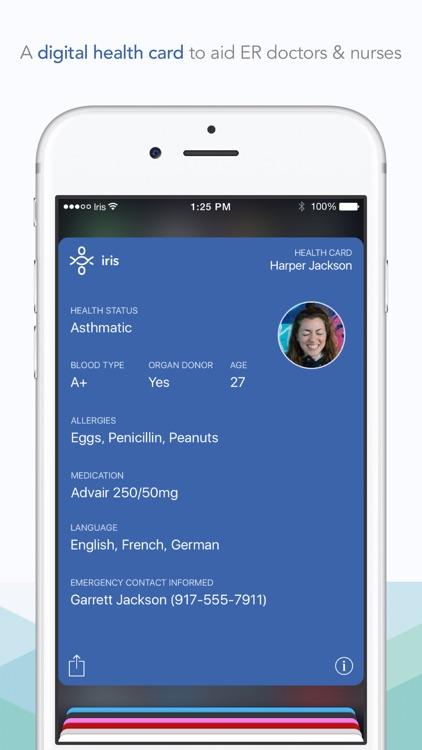 Iris–Your emergency alert screenshot-3