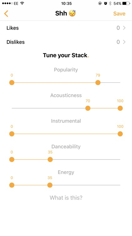Songstack: discover new music