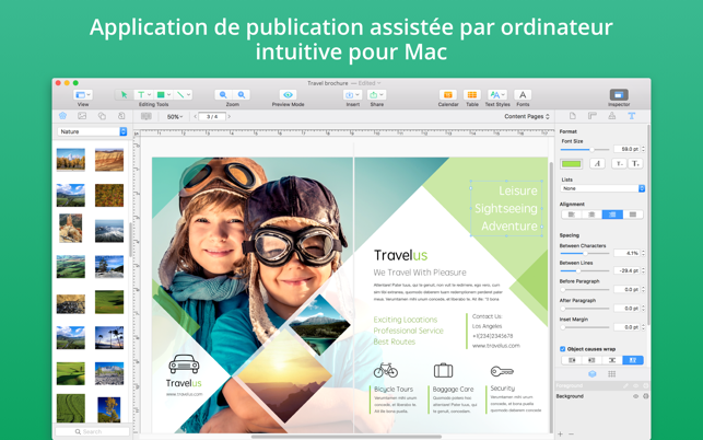 Swift Publisher 5 Dans Le Mac App Store