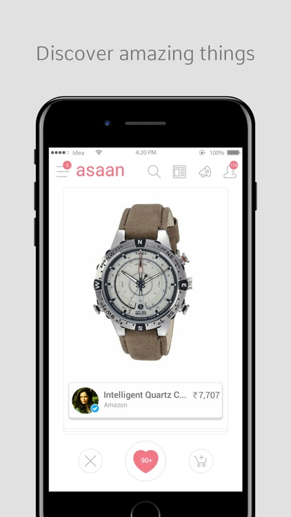 Asaan - Social Shopping