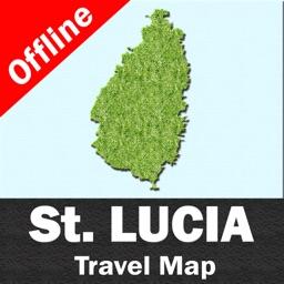 SAINT LUCIA – GPS Travel Map Offline Navigator