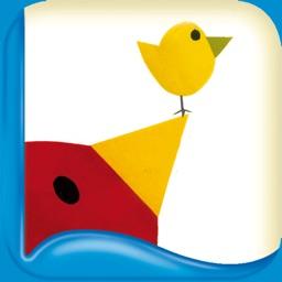 Tino the Triangle – Children's Book & Peekaboo