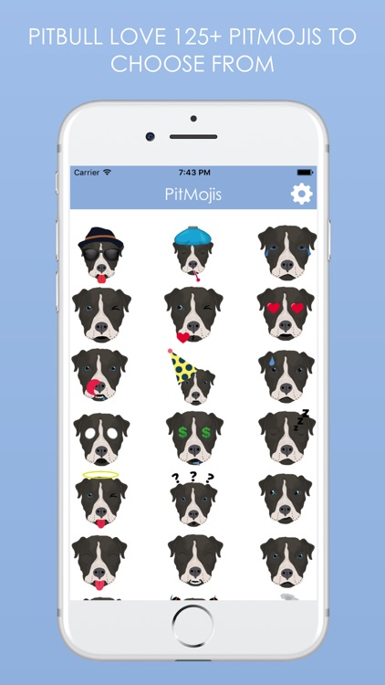 PitMojis - Pit Bull Emoji & Stickers screenshot-2