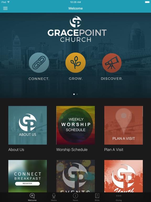 Gracepoint Church Cincinnati screenshot 4