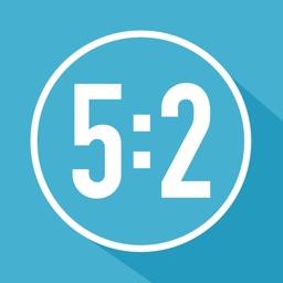 5:2 Fast Diet Calculator, Tracker & Planner