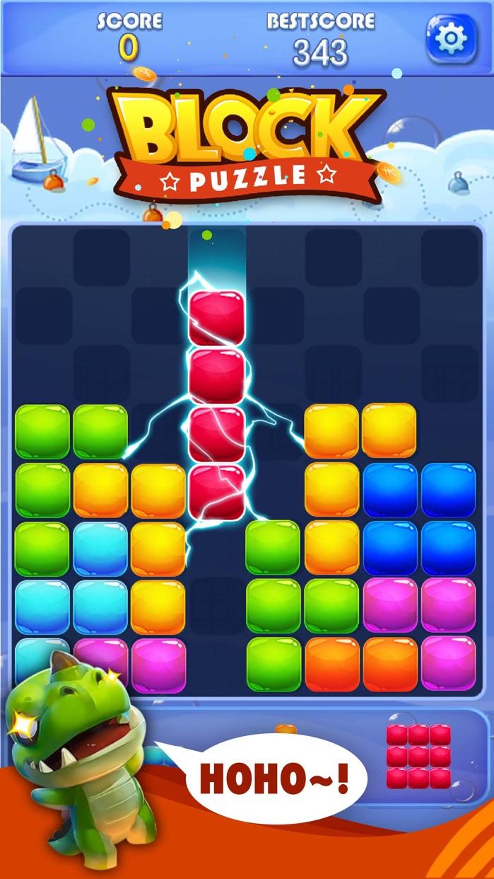Candy Block Puzzle Blitz Screenshot