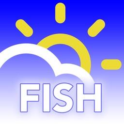 FISH wx: Fishing Weather Forecast, Radar & Traffic
