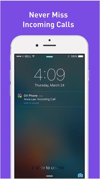 Phone for Google Voice & GTalk screenshot-4