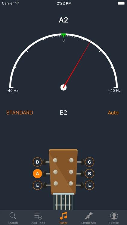 Acoustics - Guitar Tabs, Chords and Tuner screenshot-3