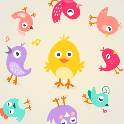 Pretty Birds Stickers