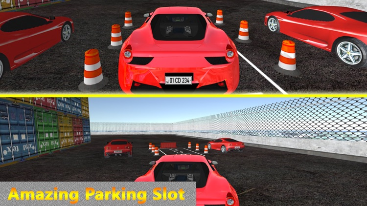 Real Multi Track Car Parking