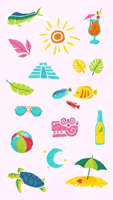 A&A Cancún Sticker Pack screenshot two