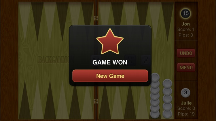 Backgammon Pro screenshot-1