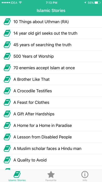 Islamic Stories - Free Muslim Stories, Quran screenshot two