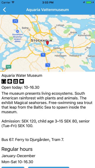 Stockholm museums screenshot four