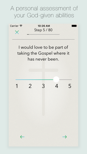 Spiritual gifts test on the app store spiritual gifts test on the app store negle Choice Image