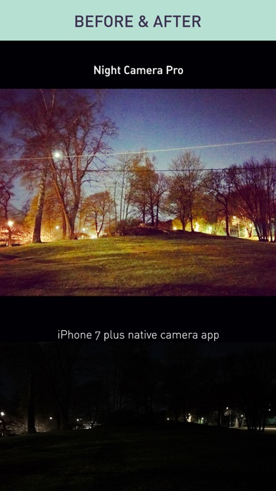 Night Camera Pro — Noise Free Low Light Photo DSLR screenshot three