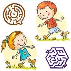 Activities of Mazes for Kids - 3D Classic Labyrinth Games