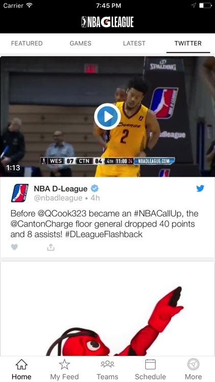 NBA D-League screenshot-4
