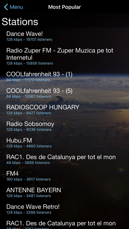 Cloud Radio screenshot-4