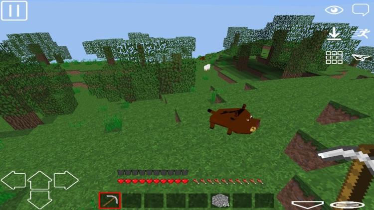 Exploration: Pixel WorldCraft 3D Game screenshot-4