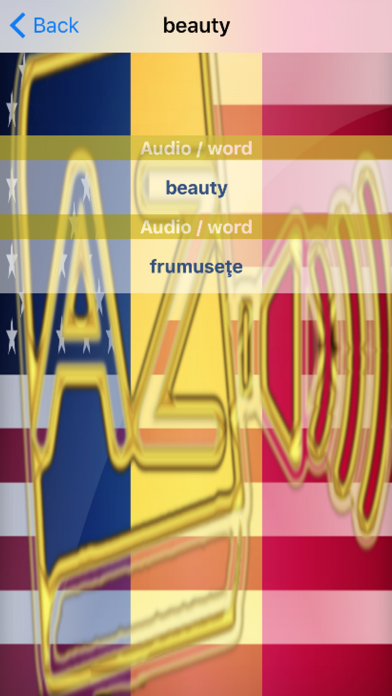 Romanian Dictionary GoldEdition screenshot 5