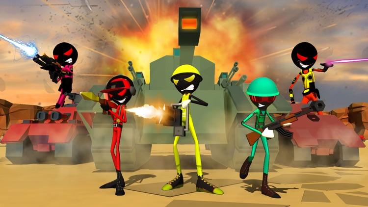 Stickman Battle Simulator 3D screenshot-3