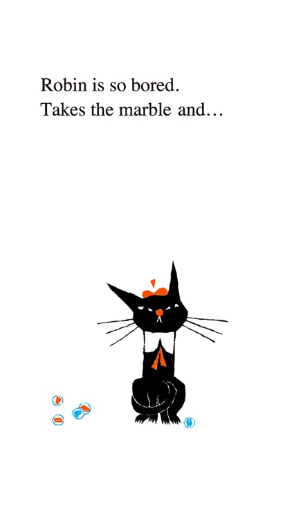 Black Cat Robin (Picture book fairy tale)