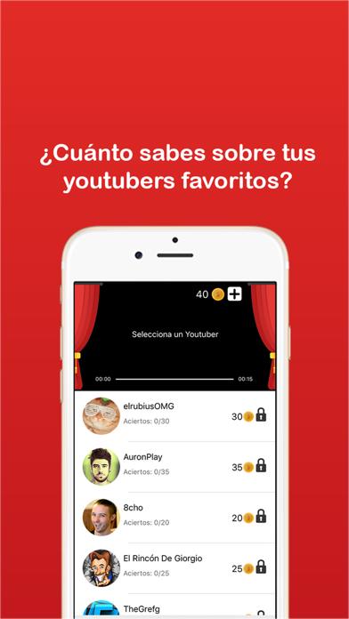 YouQuiz - Preguntas de youtubers - Trivial Quiz screenshot one
