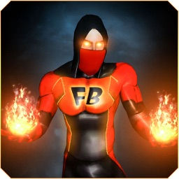 Superhero Fire Blaze – A Strange Hero Of Justice