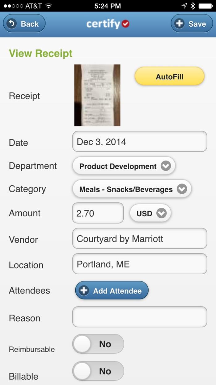 Certify Mobile Screenshot