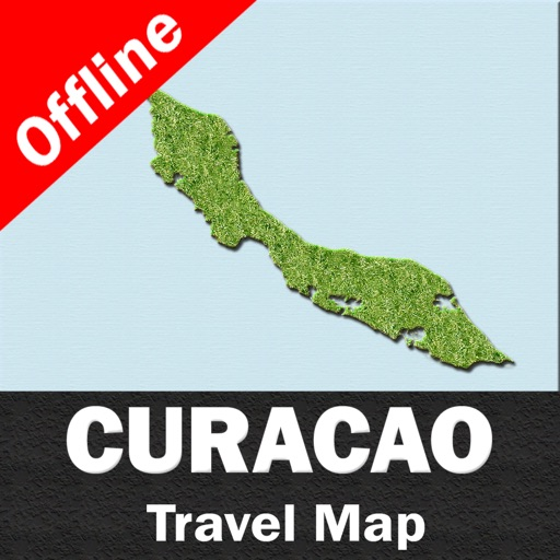 CURACAO – GPS Travel Map Offline Navigator