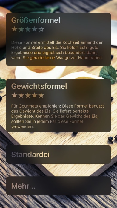 Screenshot for Eieruhr für perfekte Eier in Germany App Store