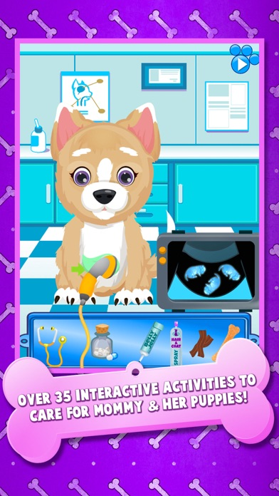 download Newborn Puppy Baby & Mommy Dog Pregnancy Pets Game apps 1