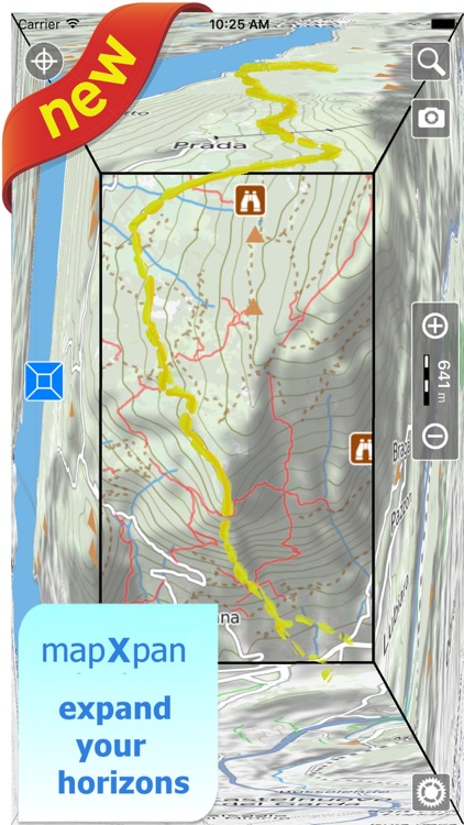 Trails of Lakes District - GPS Topo Maps, Hiking screenshot-0