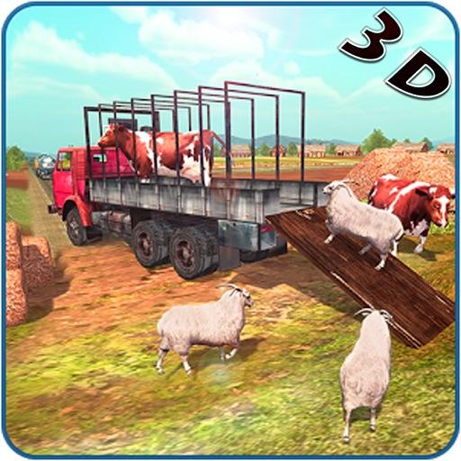 4x4 Simulator - City Animal Cargo Truck Driving 3D