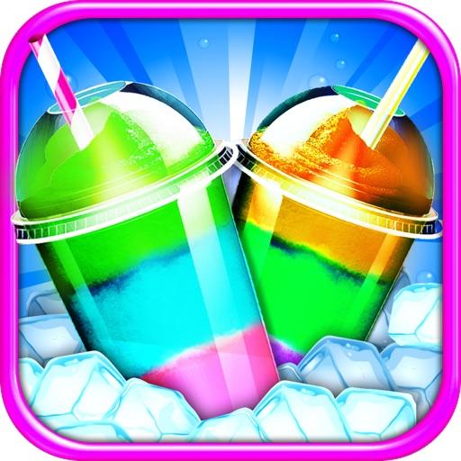 Frozen Icy Slushy Maker - Ice Dessert Candy Game