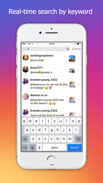 Get Followers, Get Comments for Instagram app image