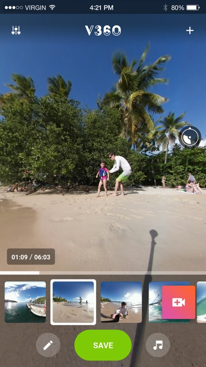 V360 - 360 video editor screenshot-3