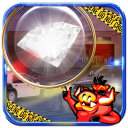 Hidden Object Games Catch the Diamond Thief