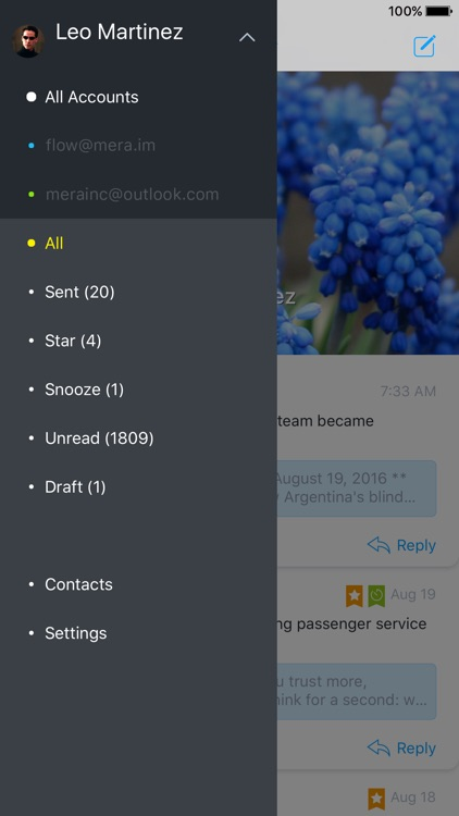 Flow Mail - tames mobile inbox screenshot-3