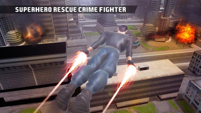Superheld Kriminalität Kämpfer Rettung Screenshot