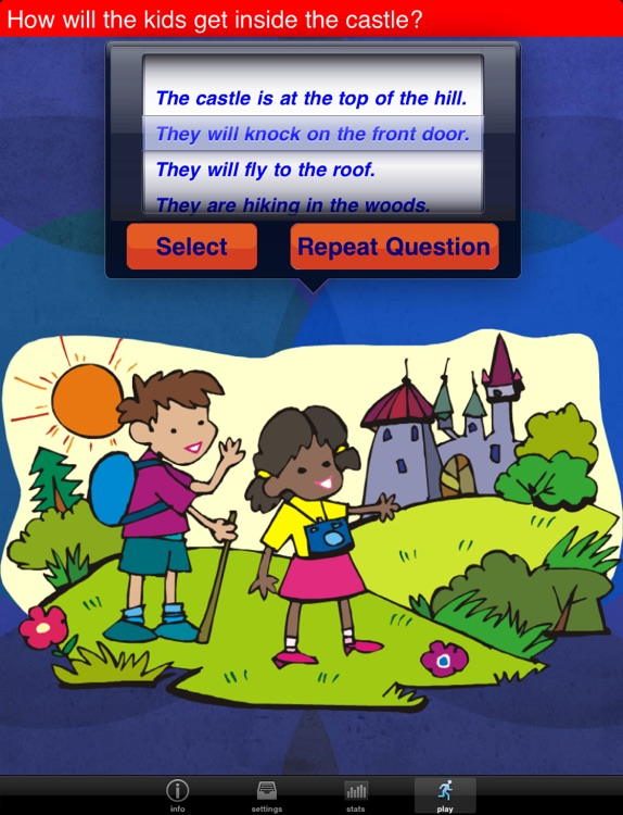 Question Builder for iPad