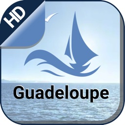 Guadeloupe offline nautical charts for boating