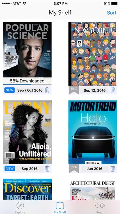 Flipster – Digital Magazines screenshot-3